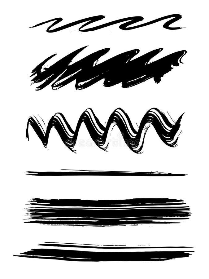 Cepillos de pintura libre illustration