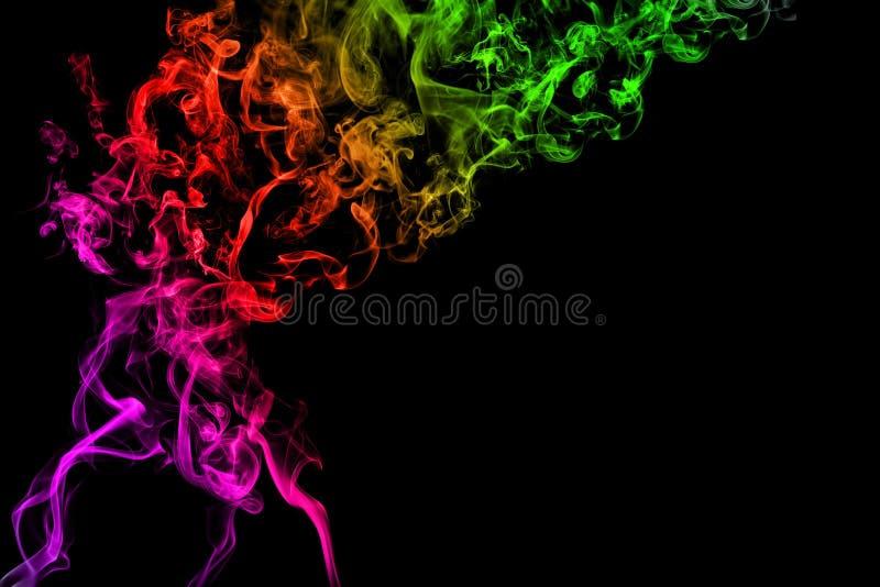 Cepillos del humo imagen de archivo libre de regalías