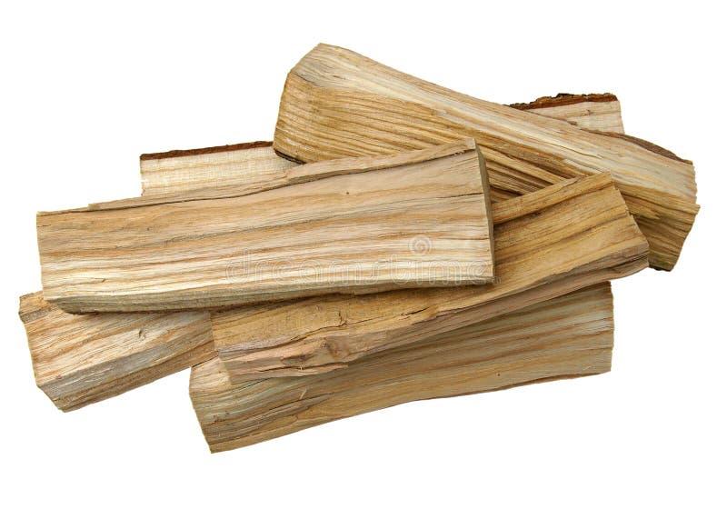 Ceppi di legno come legna da ardere fotografie stock libere da diritti