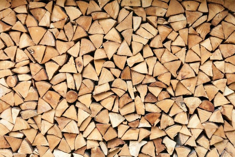 Ceppi di legno del fuoco fotografie stock libere da diritti