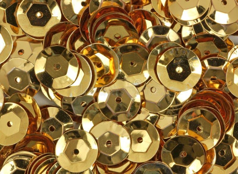 Cequis del oro imágenes de archivo libres de regalías