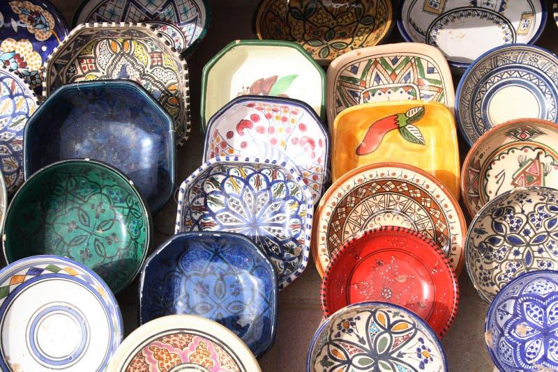 Cerámica de Túnez imagen de archivo libre de regalías