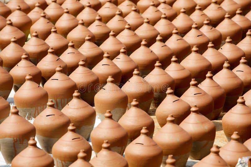Cerámica en Nepal, cerámica imagenes de archivo
