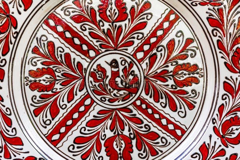 Cerámica pintada tradicional imagen de archivo libre de regalías