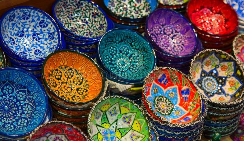Cerámica turca foto de archivo libre de regalías