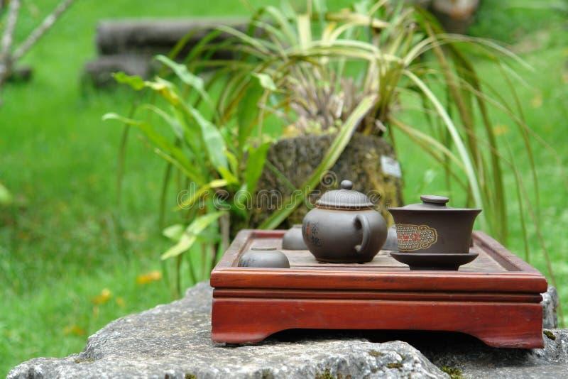 Cerâmica asiática fotografia de stock