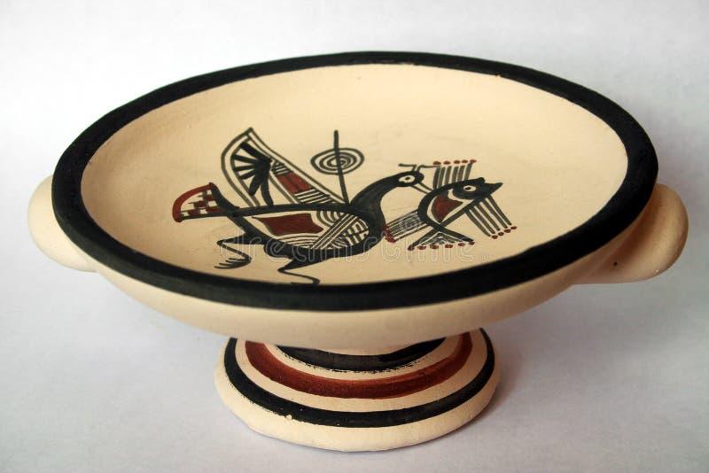 Cerâmica de Chipre foto de stock royalty free