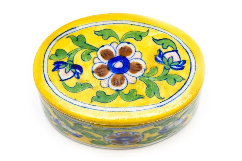Cerâmica de Rajasthani foto de stock