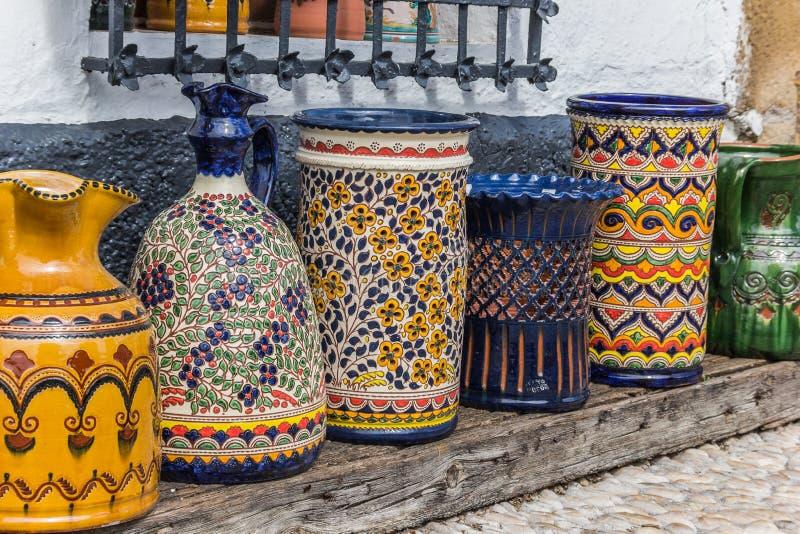 Cerâmica de Ubeda imagem de stock