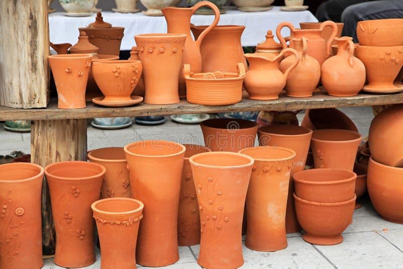 Cerâmica do Terracotta foto de stock royalty free