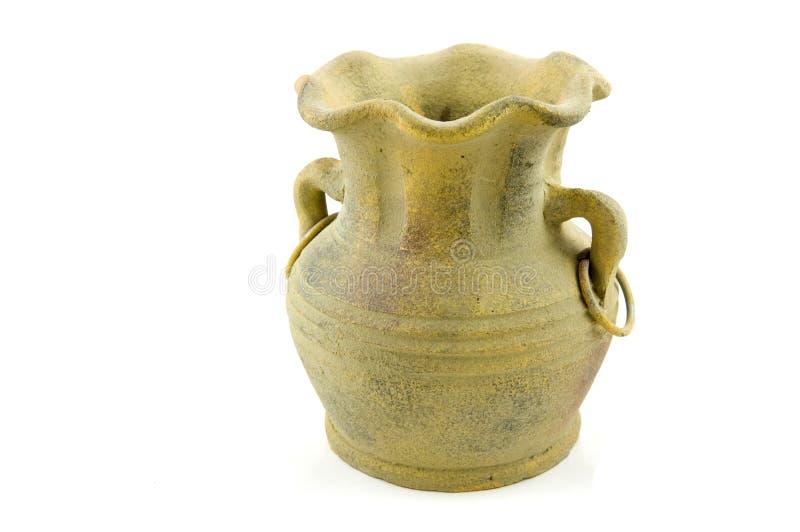 Cerâmica do vintage da pedra fotografia de stock