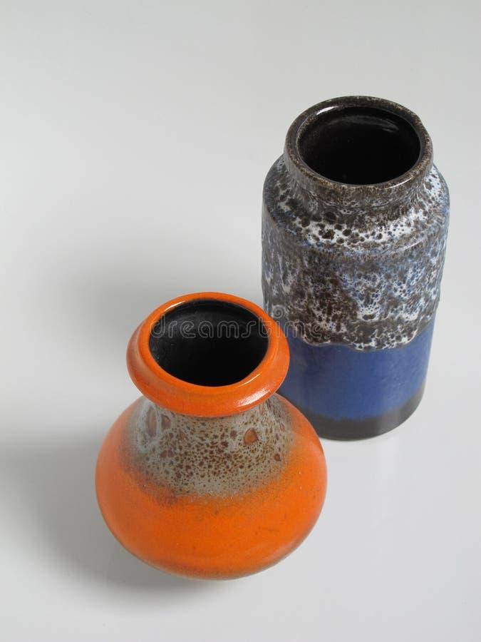 cerâmica dos anos 60 foto de stock royalty free