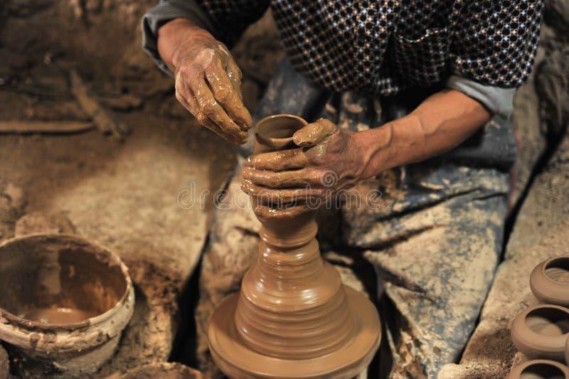 Cerâmica feito a mão no ¥ do â da oficina… imagem de stock royalty free