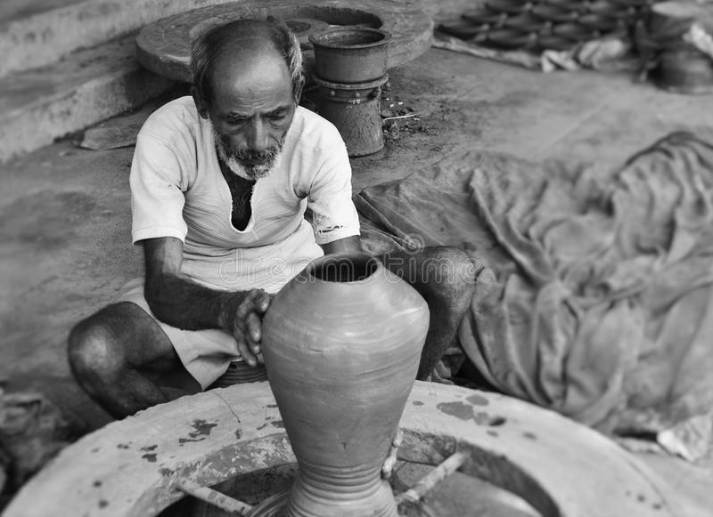 Cerâmica indiana foto de stock royalty free