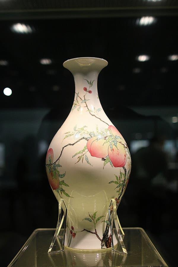 Cer?mica no museu de Shanghai 20-05 fotos de stock royalty free