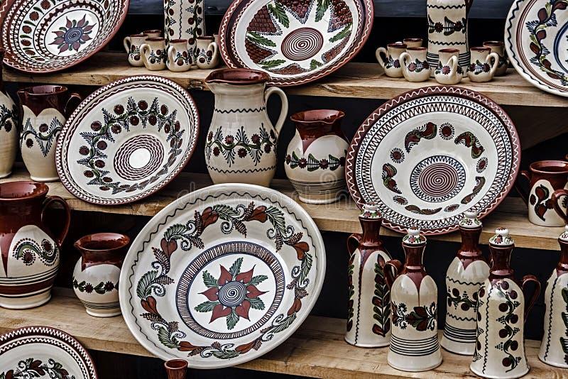 Cerâmica popular 5 imagens de stock royalty free