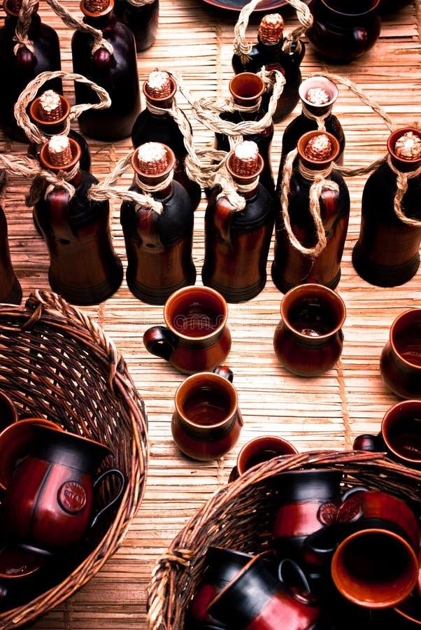 Cerâmica romena fotografia de stock royalty free