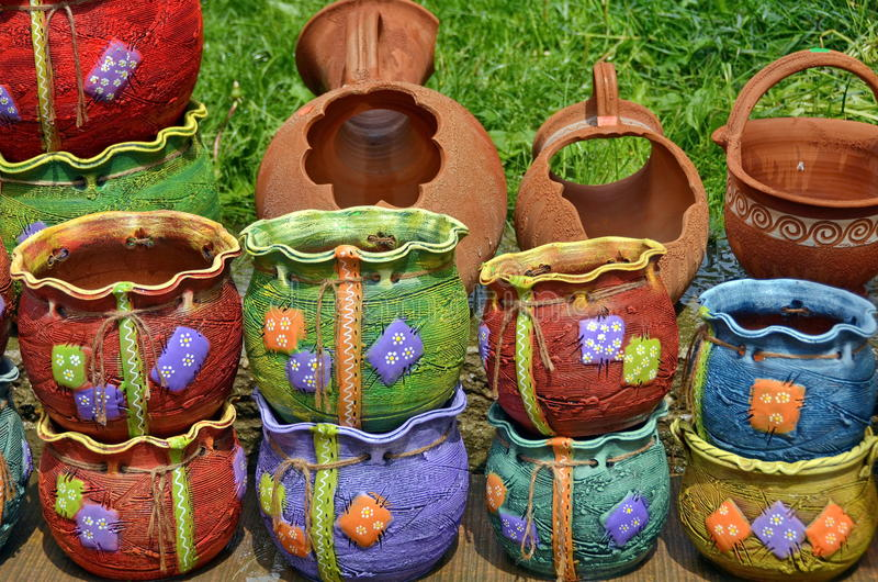 Cerâmica tradicional imagem de stock royalty free