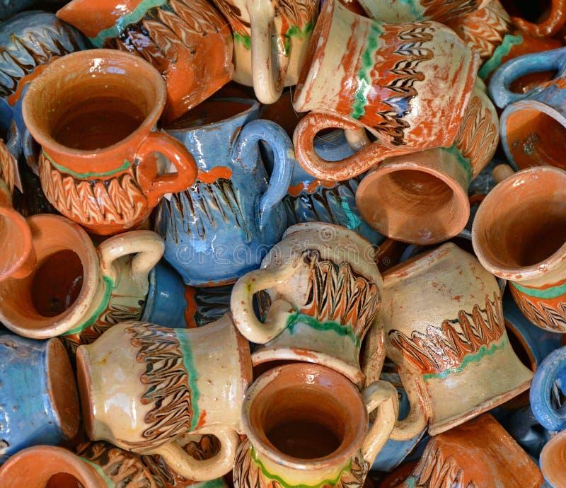 Cerâmica tradicional imagens de stock
