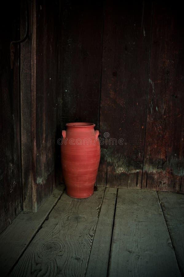 Cerâmica vermelha imagem de stock