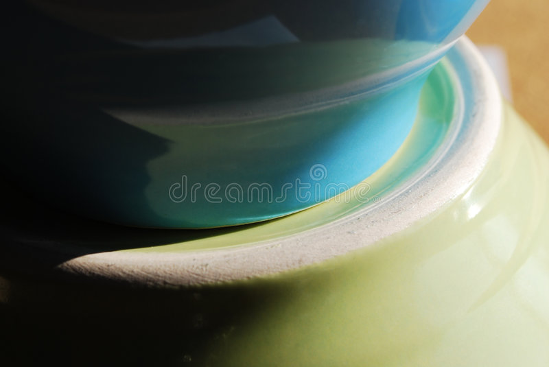 Ceramic Bowl Abstract Royalty Free Stock Photo