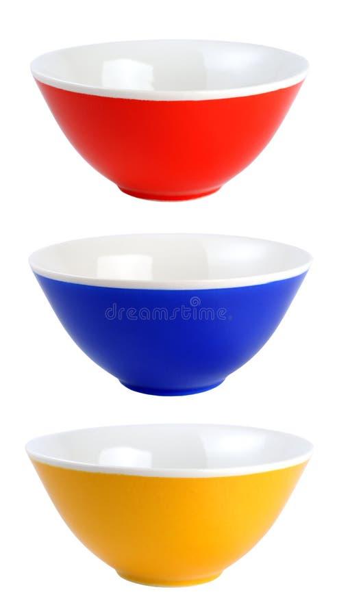 Ceramic bowls royalty free stock image