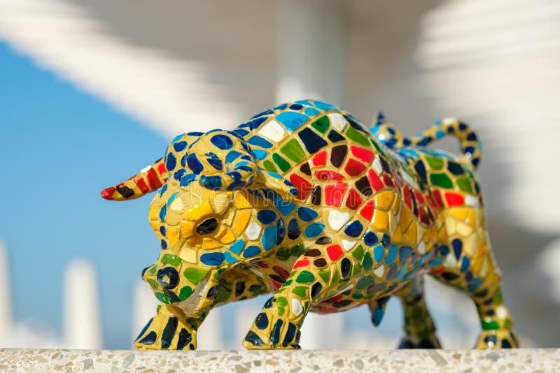 Bull Flowers Beelden /& Figuren Gaudi Moza/ïek