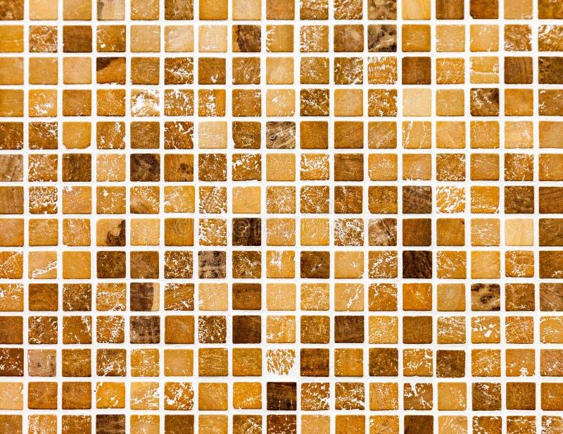 Ceramic colorful tiles mosaic composition pattern backgrou. Ceramic glass colorful tiles mosaic composition pattern background royalty free stock photo