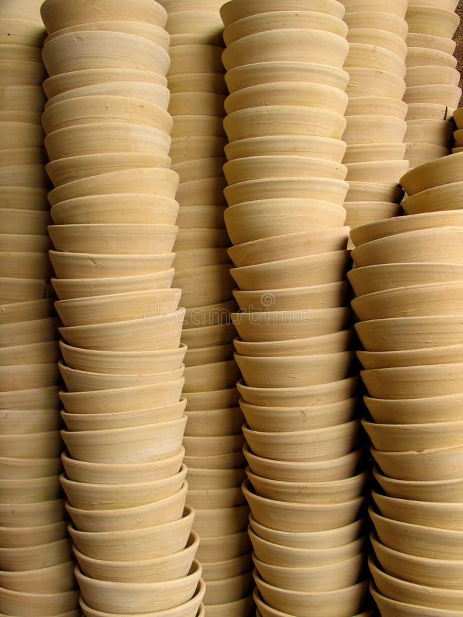 Ceramic Cups Stock Images