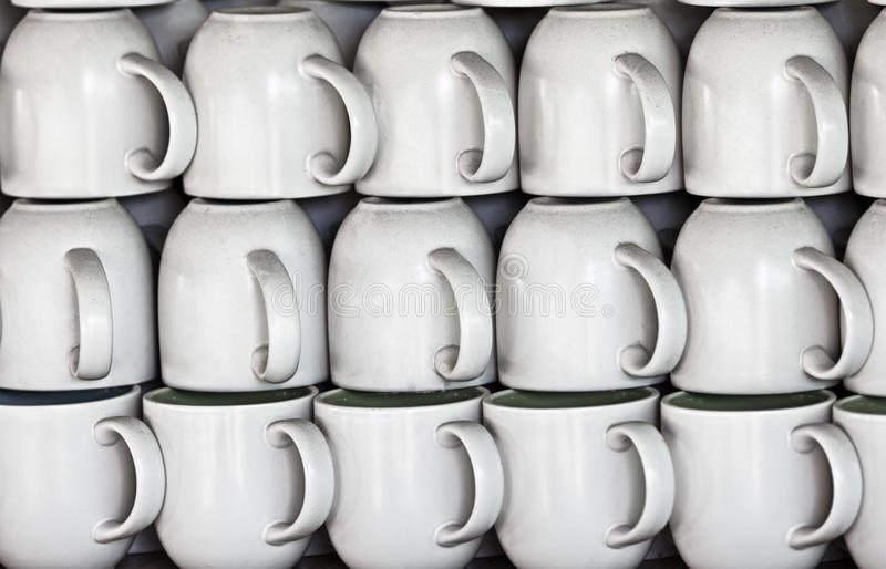 Download Ceramic Cups On Market Stall Stock Photo - Image: 25234804