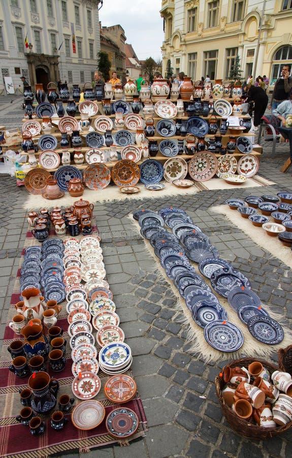 Ceramic Goods stock photo