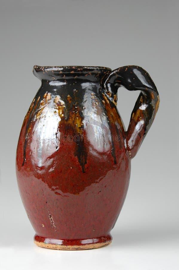Ceramic jug in Brown tones