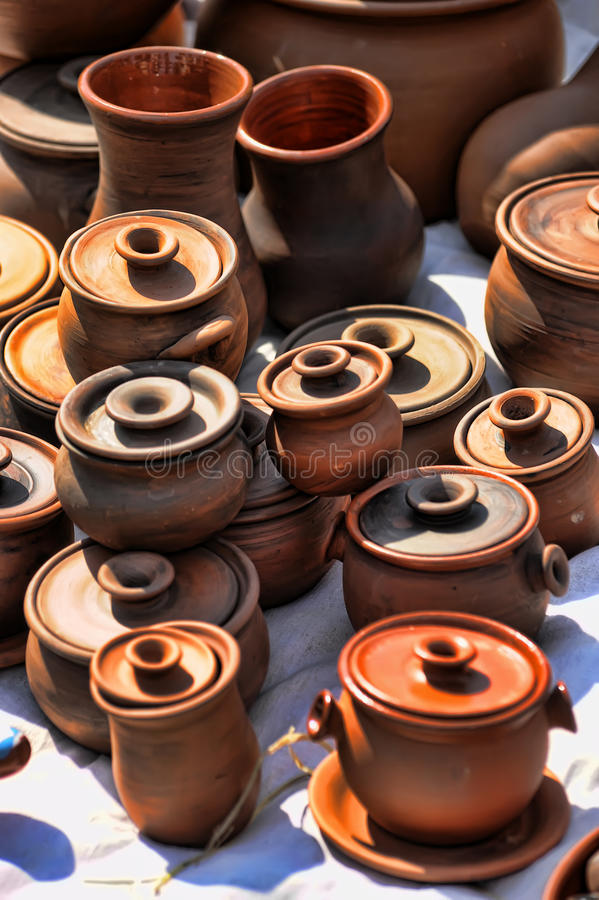 Download Ceramic jugs stock photo. Image of history, archaeology - 26100688