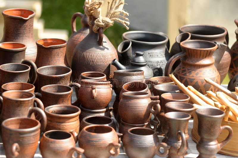 Download Ceramic Jugs Royalty Free Stock Photos - Image: 26100858