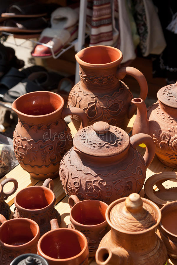 Download Ceramic Jugs Royalty Free Stock Photography - Image: 26467507