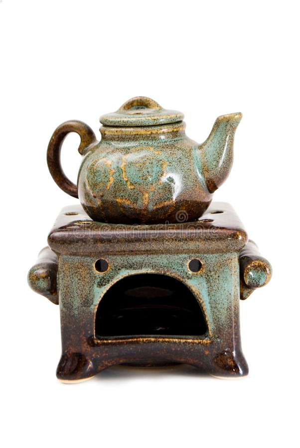 Free Ceramic Kettle Royalty Free Stock Image - 8790446