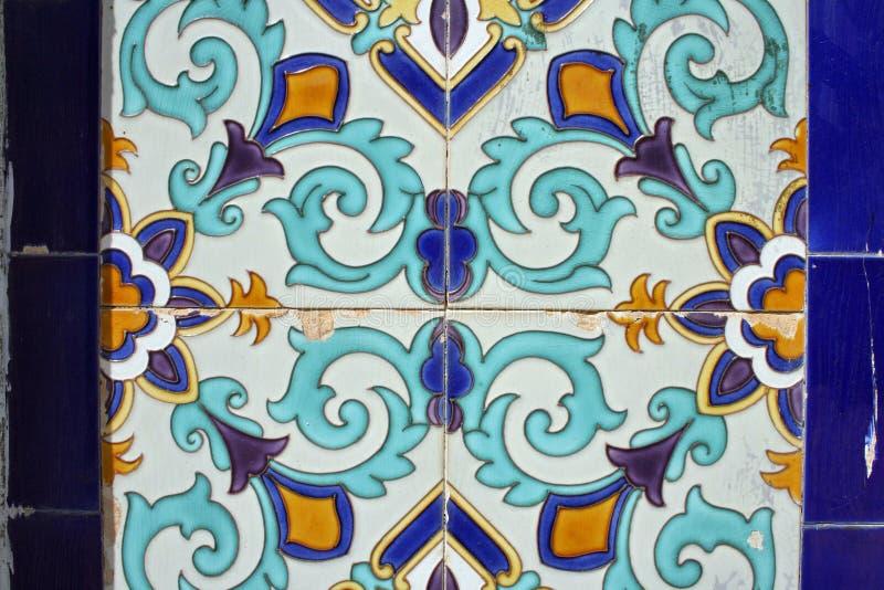 Ceramic pattern stock photos