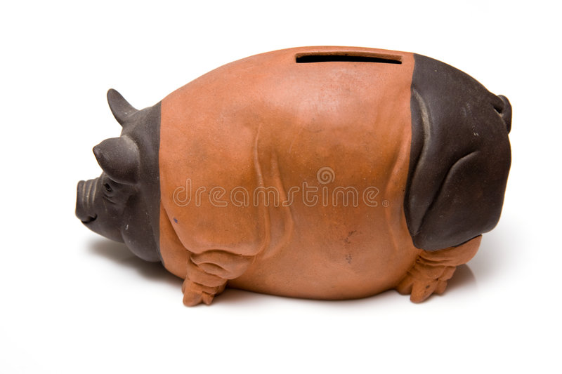 Download Ceramic piggy bank stock image. Image of frugality, ceramic - 5022569