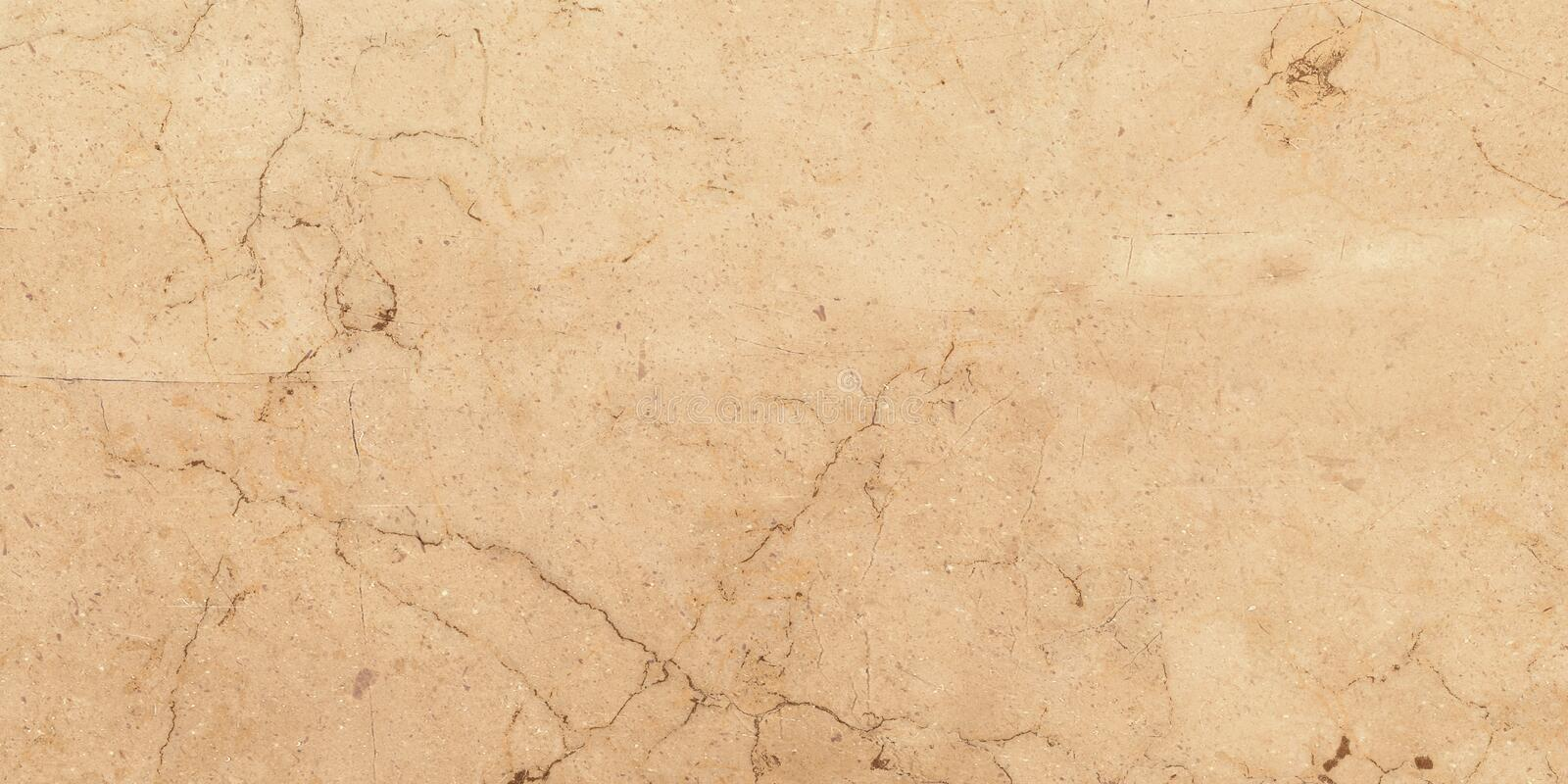 Ceramic porcelain stoneware tile texture or pattern. Natural stone beige color with veining stock images