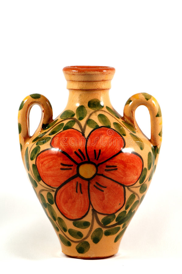 Free Ceramic Pot With Paint Stock Photo - 2533020
