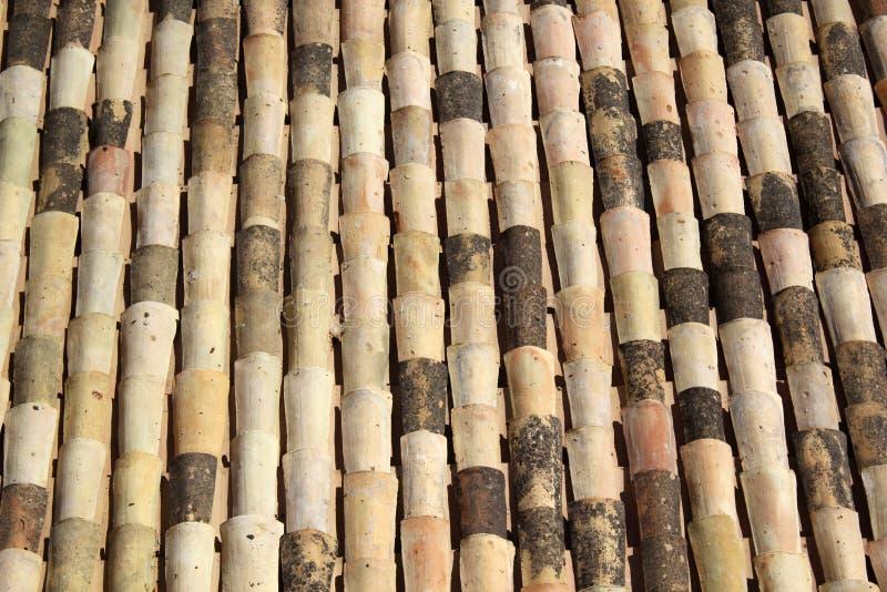 Ceramic Roof Tiles Stock Image