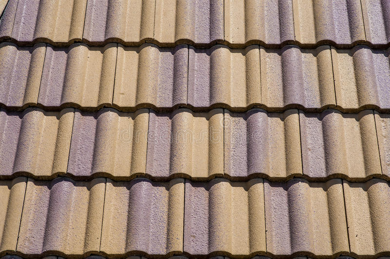 Ceramic Roof Tiles royalty free stock image