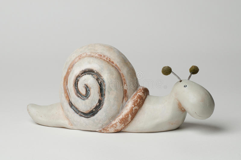 Download Ceramic Snail stock image. Image of decoration, decorative - 30474683