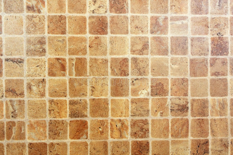 Ceramic tile. On the wall royalty free stock photo