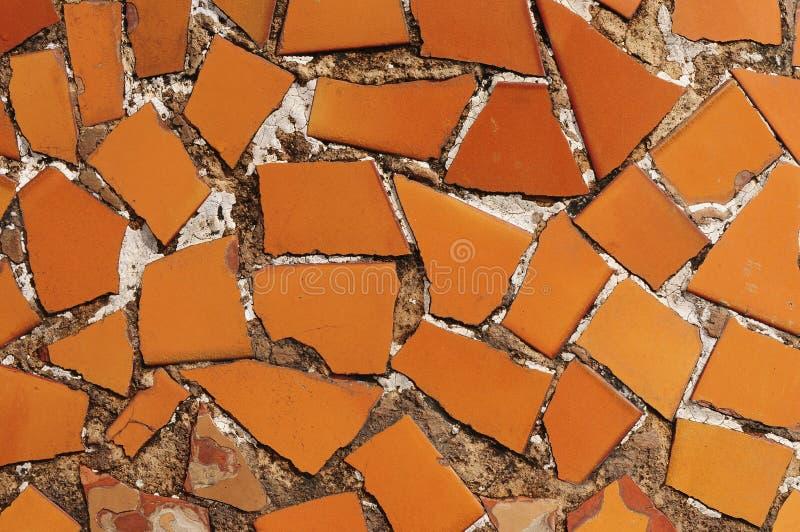 Download Ceramic tile pieces stock image. Image of orange, modern - 13763249