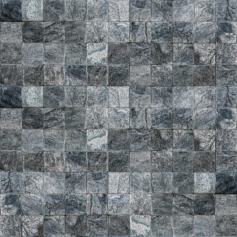 Ceramic tile and stone wall Modern wall for bacground royalty free stock photos