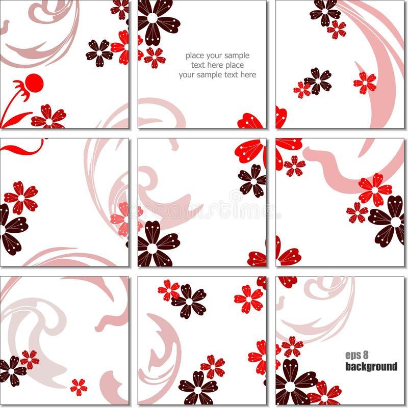 Ceramic  tiles. Background. Colored vector illustration for designers stock illustration