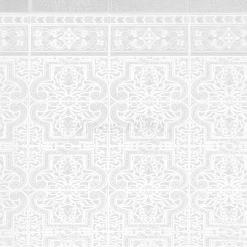 Ceramic tiles pattern bitmap illustration. Computer generated royalty free illustration
