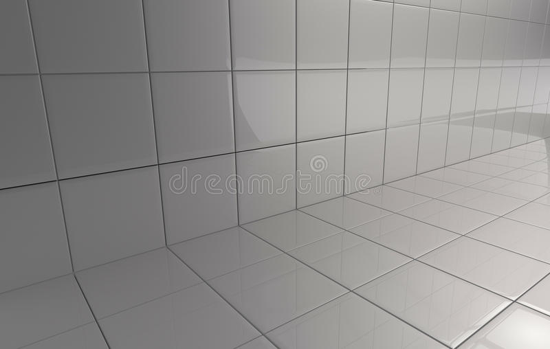 Ceramic tiles royalty free illustration