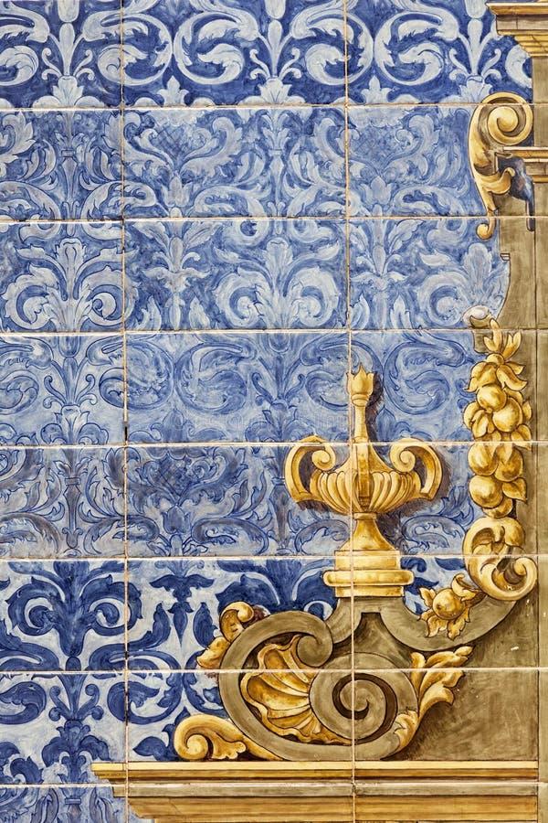 Ceramic wall tiles in Seville, Spain. Ceramic wall tiles on Plaza de Espana in Seville, Spain stock image